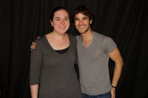 Myself and Darren Criss